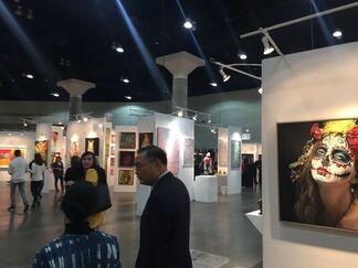 bG Gallery at LA Art Show 2019, installation view
