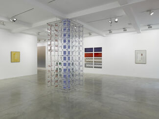The Gap: Selected Abstract Art from Belgium curated by Luc Tuymans, installation view