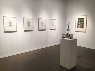 Galerie Sabine Knust at LA Art Show 2019, installation view