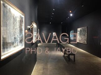 Savage, installation view
