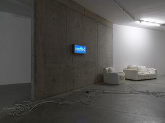 Mélanie Matranga / Oliver Payne, organized by Fredi Fischli and Niels Olsen, installation view