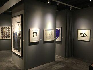 Bernard Jacobson Gallery at IFPDA Print Fair 2016, installation view