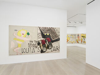 Rose Wylie: Lolita's House, installation view