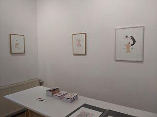 Brûlant d'un feu rose... (Anya Belyat-Giunta, Stief DeSmet, Annabelle Guetatra), installation view