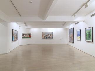 David Hockney, Digital Drawings, installation view