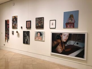 """""""Not Only can Women Paint but…"""", installation view"""