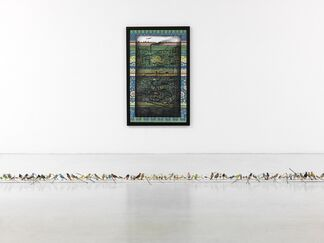 """Hema Upadhyay - """"The Princesses' Rusted Belt"""", installation view"""
