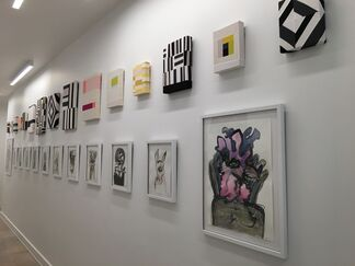 Imlay Gallery at Art on Paper 2018, installation view