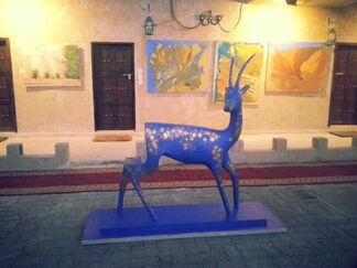 Art Hub Liwa Grand Opening, installation view