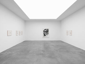 George Condo — Works on Paper, installation view