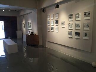 "Michiko Inami ""draw and erase"", installation view"