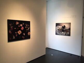 Amjad Faur, A Scythe Across the Night Sky, installation view