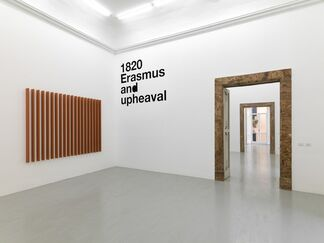 Liam Gillick - Four Propositions  Six Structures, installation view
