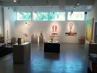 Women in the Atrium, installation view