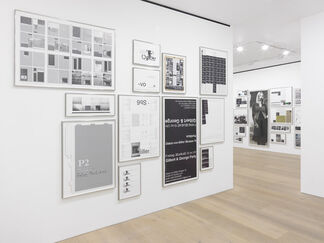 Michael Riedel: Laws of Form, installation view