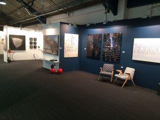 french art studio at London Art Fair 2015, installation view