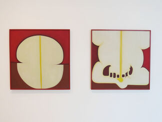 Lombard Freid Gallery: Huguette Caland: Early Works 1970-85, installation view