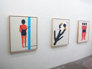 Geoff McFetridge - Meditallucination, installation view