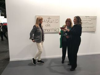Del Infinito at ARCOmadrid 2018, installation view