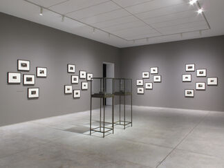 Dario Robleto: The First Time, The Heart, installation view