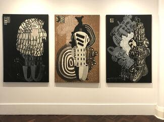Sarah Amos: The Tracing Wall, installation view