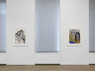 Alice Neel: Drawings and Watercolors 1927-1978, installation view