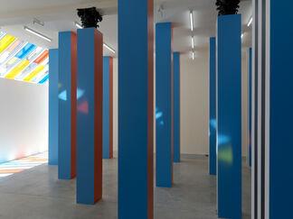 Daniel Buren   To Align: works in situ 2017, installation view