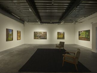 The River Laughs While The Sky Cries, installation view