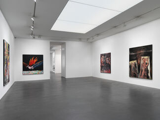 Walter Dahn 'Works from the 80's', installation view