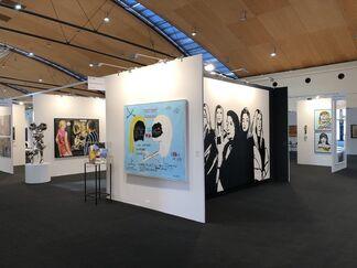 Galerie Schimming at art KARLSRUHE 2019, installation view