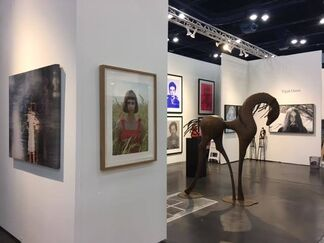 ZK Gallery at Texas Contemporary 2016, installation view