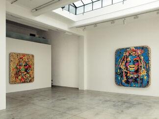 "Ashley Bickerton ""The Women"", installation view"