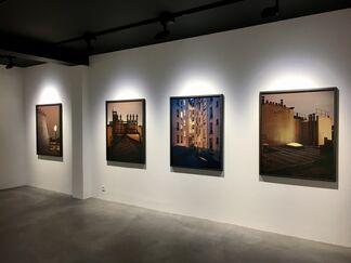 "ALAIN CORNU - ""SUR PARIS"", installation view"