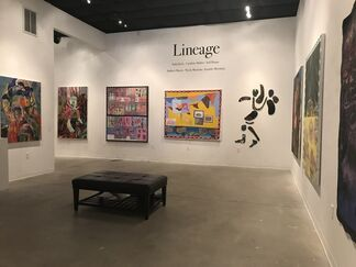 Lineage, installation view