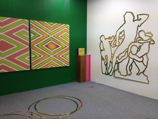YALLAY GALLERY at Art Central 2015, installation view