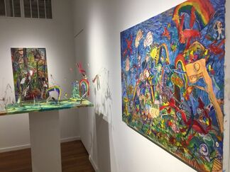 Jenny Toth: Knights and Rainbows - Metaphors for Motherhood, installation view