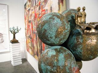 Rimonim Art Gallery at The Houston Fine Art Fair, installation view