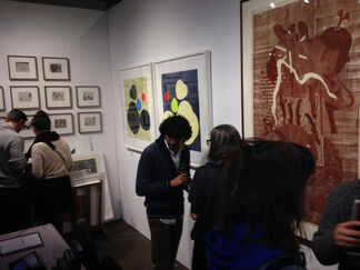 Highpoint Editions at The Editions/Artists' Books (E/AB) Fair 2014, installation view