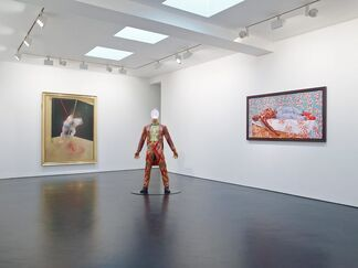 Study From The Human Body, installation view