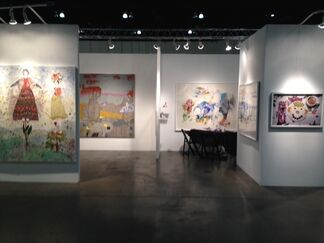 Praxis at LA Art Show 2015, installation view