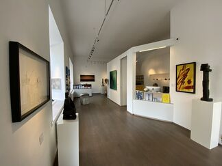 SCULPTURES & PAINTINGS, installation view