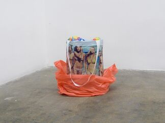 0gms at Art Brussels 2014, installation view
