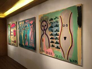 Guerras Globais (Global Wars), installation view