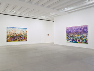 Ali Banisadr: AT ONCE, installation view