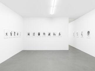Fiona Rae - Zeichnungen, installation view