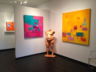 Nicole Gunning and John Blee, installation view