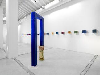 """Herbert Hamak - """"A bouquet of roses"""", installation view"""