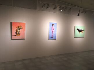Heroes and Quadruped, installation view