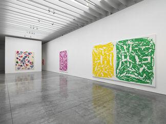 Simon Hantaï, installation view