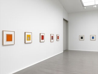Josef Albers - Paintings on Paper, installation view